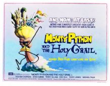 Eric Idle Signed Photo - Monty Python And The Holy Grail